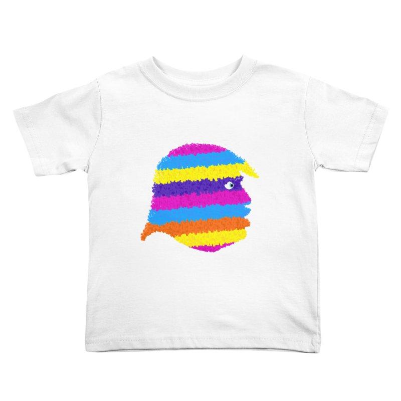Trumpiñata Kids Toddler T-Shirt by Victor Calahan