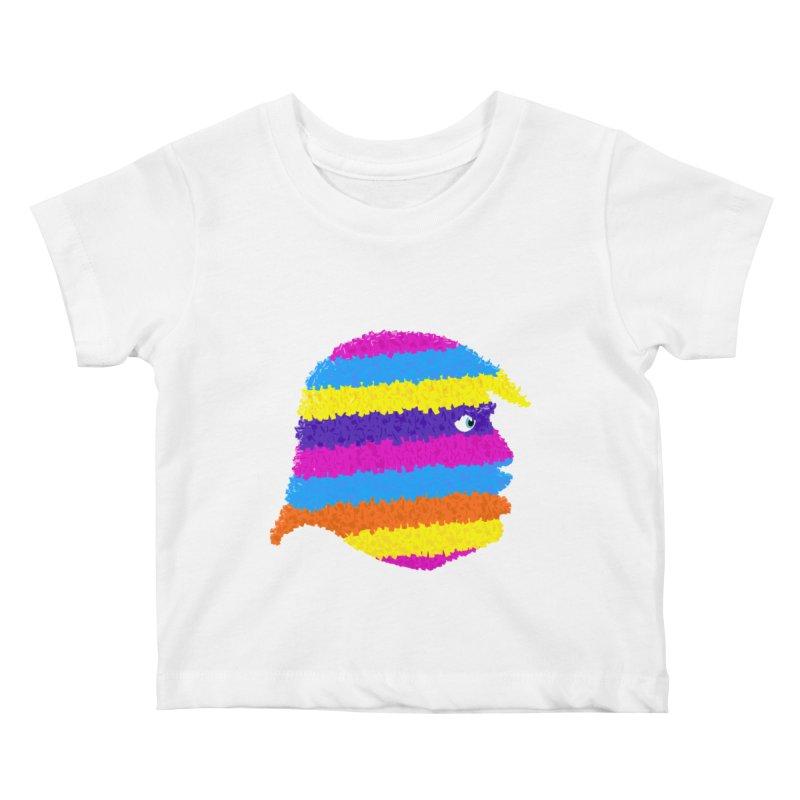 Trumpiñata Kids Baby T-Shirt by Victor Calahan