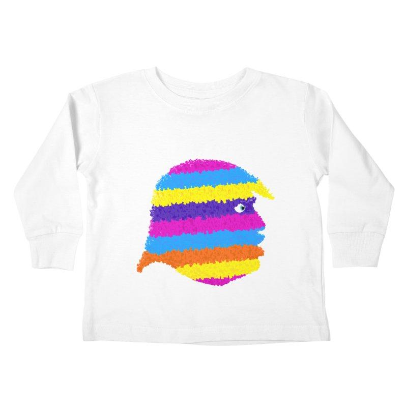 Trumpiñata Kids Toddler Longsleeve T-Shirt by Victor Calahan