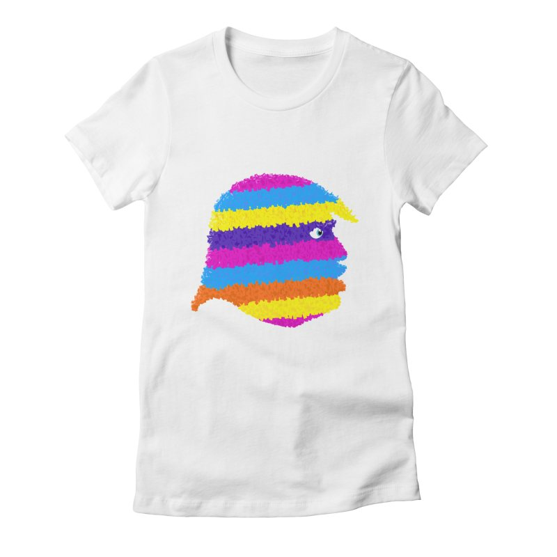 Trumpiñata Women's Fitted T-Shirt by Victor Calahan