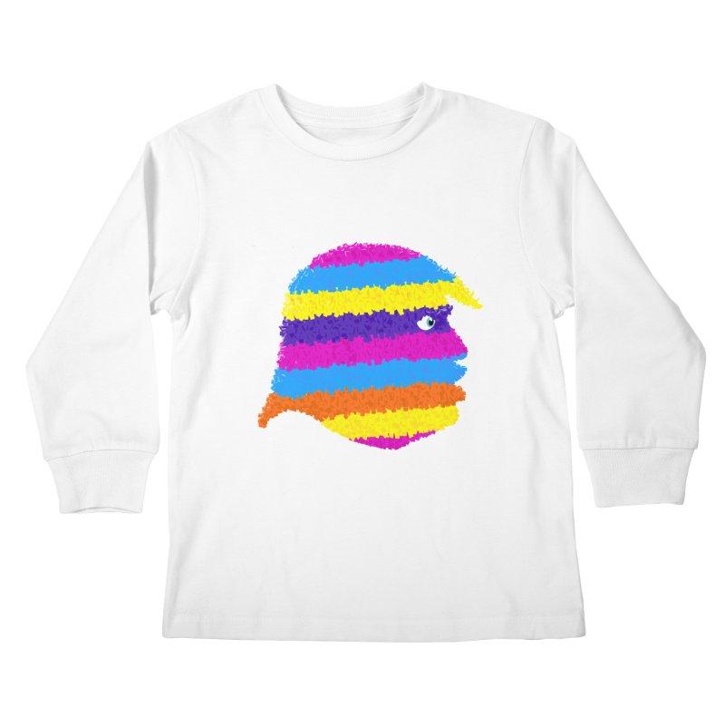 Trumpiñata Kids Longsleeve T-Shirt by Victor Calahan