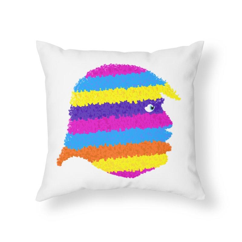Trumpiñata Home Throw Pillow by Victor Calahan