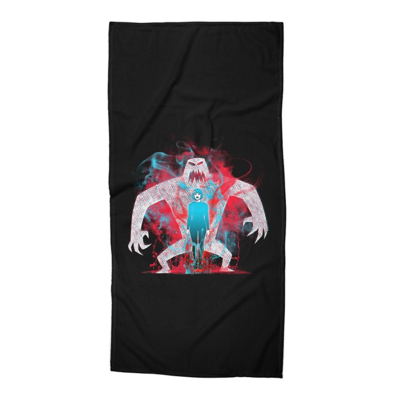 We are the Machine that Bleeds Accessories Beach Towel by Victor Calahan