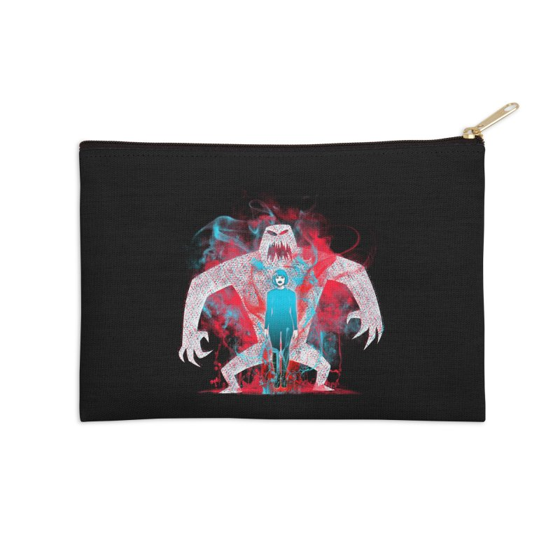 We are the Machine that Bleeds Accessories Zip Pouch by Victor Calahan