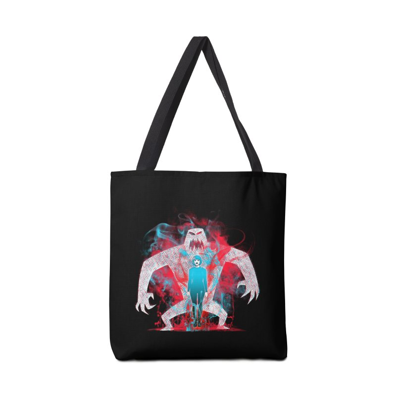 We are the Machine that Bleeds Accessories Bag by Victor Calahan
