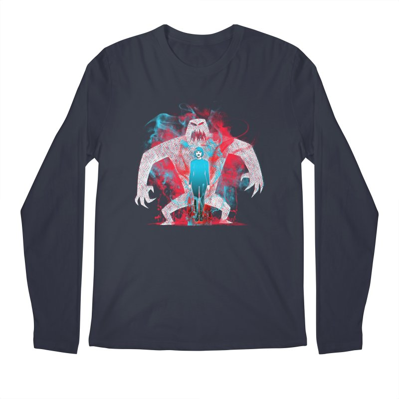 We are the Machine that Bleeds Men's Longsleeve T-Shirt by Victor Calahan