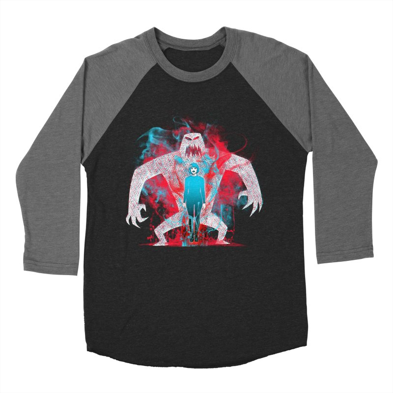 We are the Machine that Bleeds Men's Baseball Triblend T-Shirt by Victor Calahan