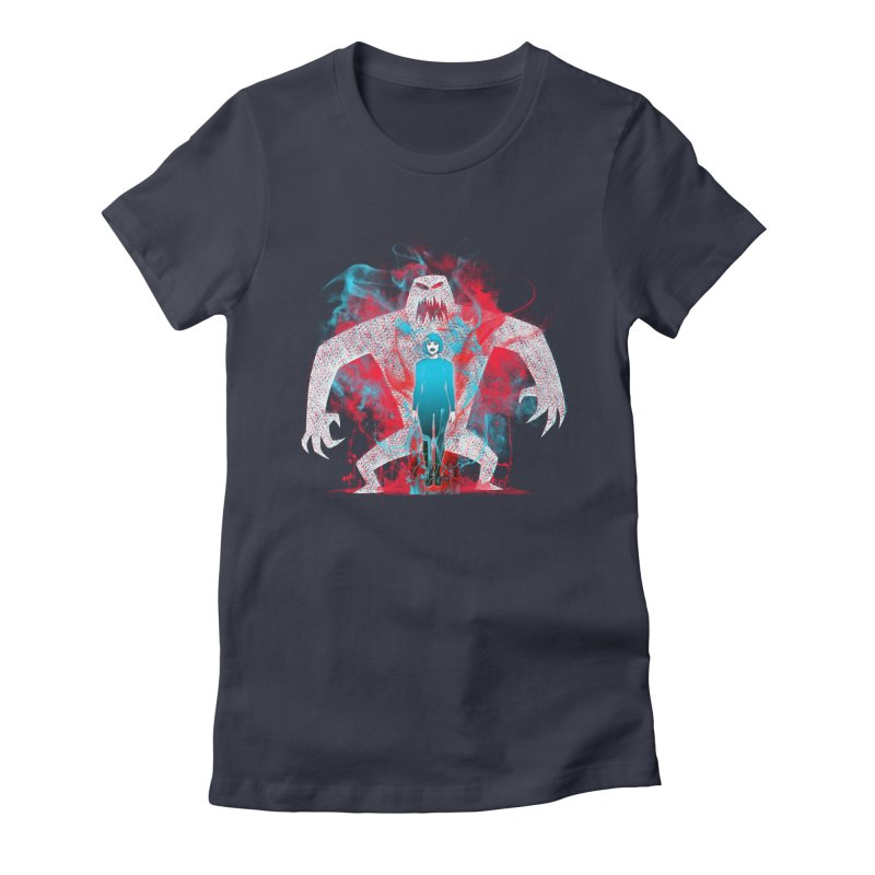 We are the Machine that Bleeds Women's Fitted T-Shirt by Victor Calahan