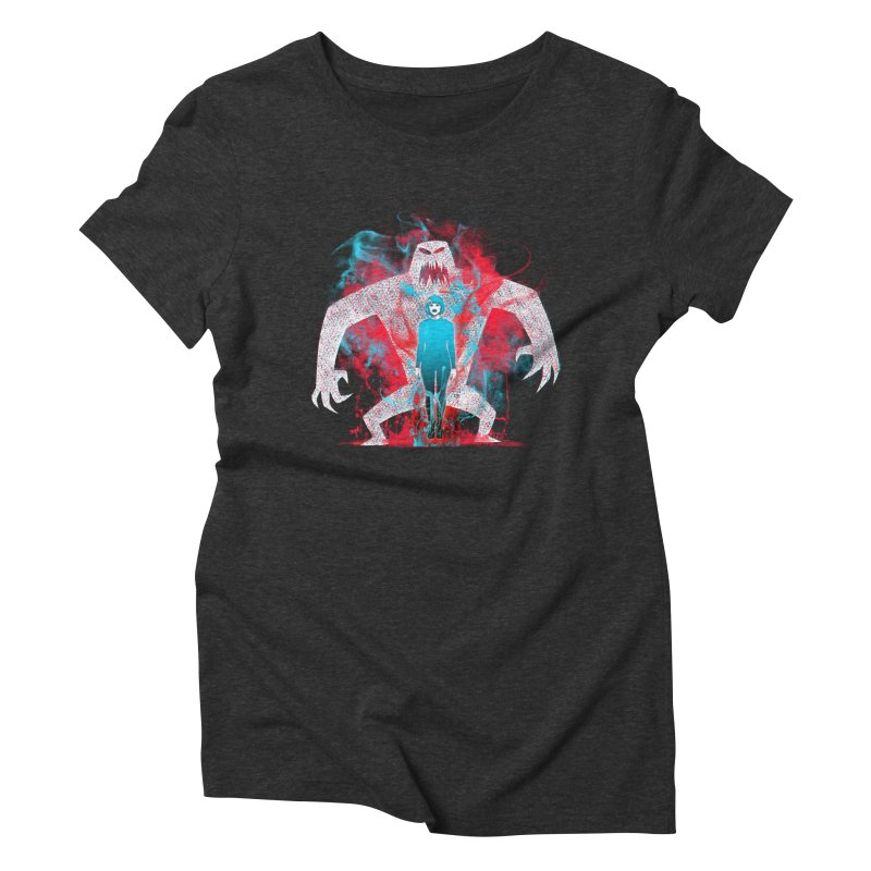 We are the Machine that Bleeds Women's Triblend T-Shirt by Victor Calahan