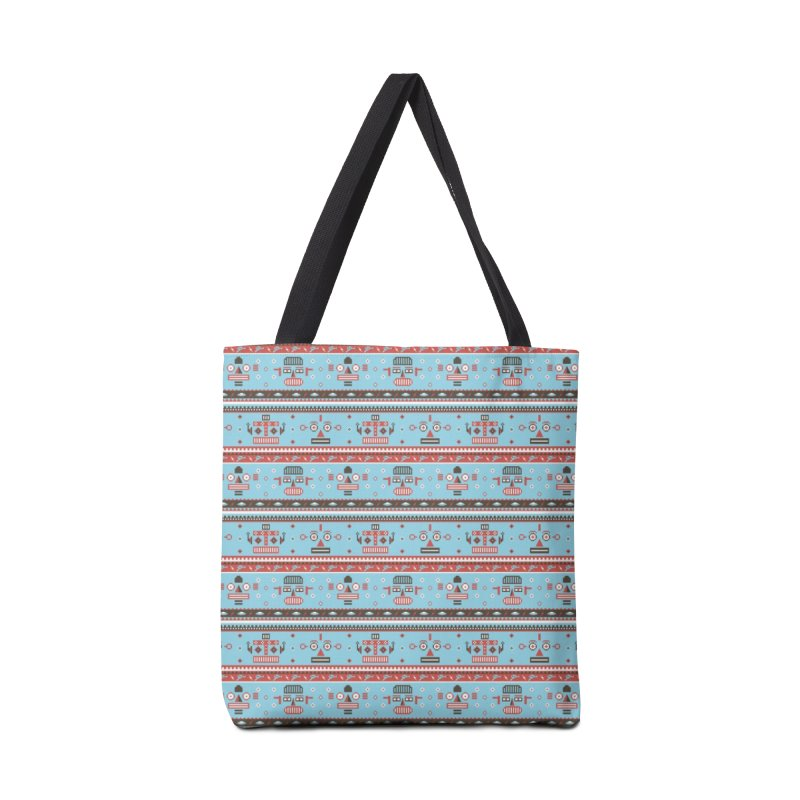 Navajo Bots Accessories Tote Bag Bag by Victor Calahan