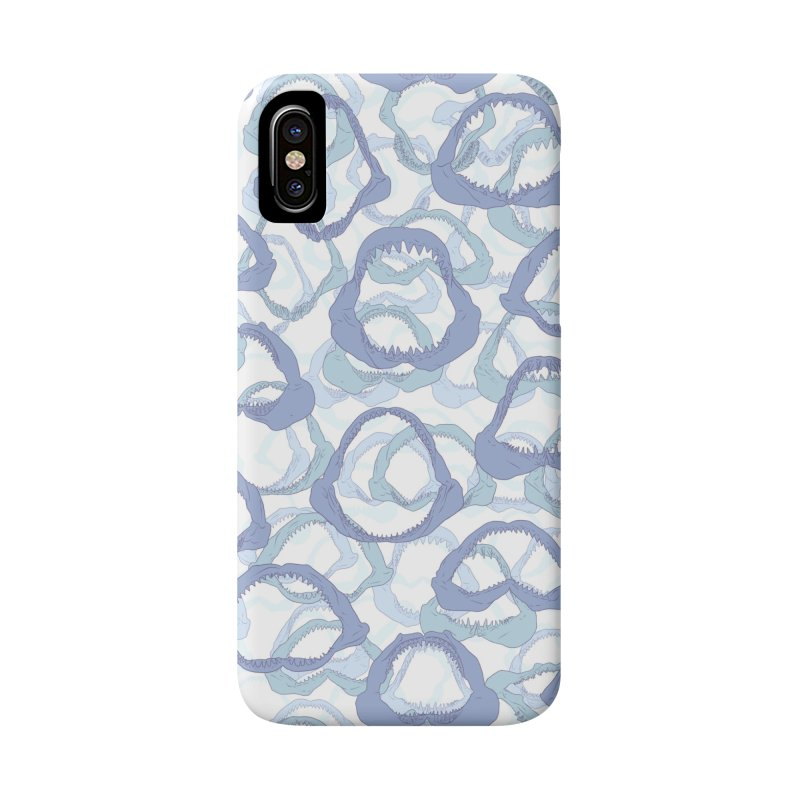 Jaws in iPhone X / XS Phone Case Slim by Victor Calahan