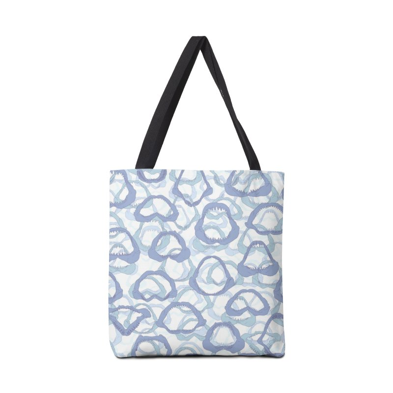Jaws in Tote Bag by Victor Calahan