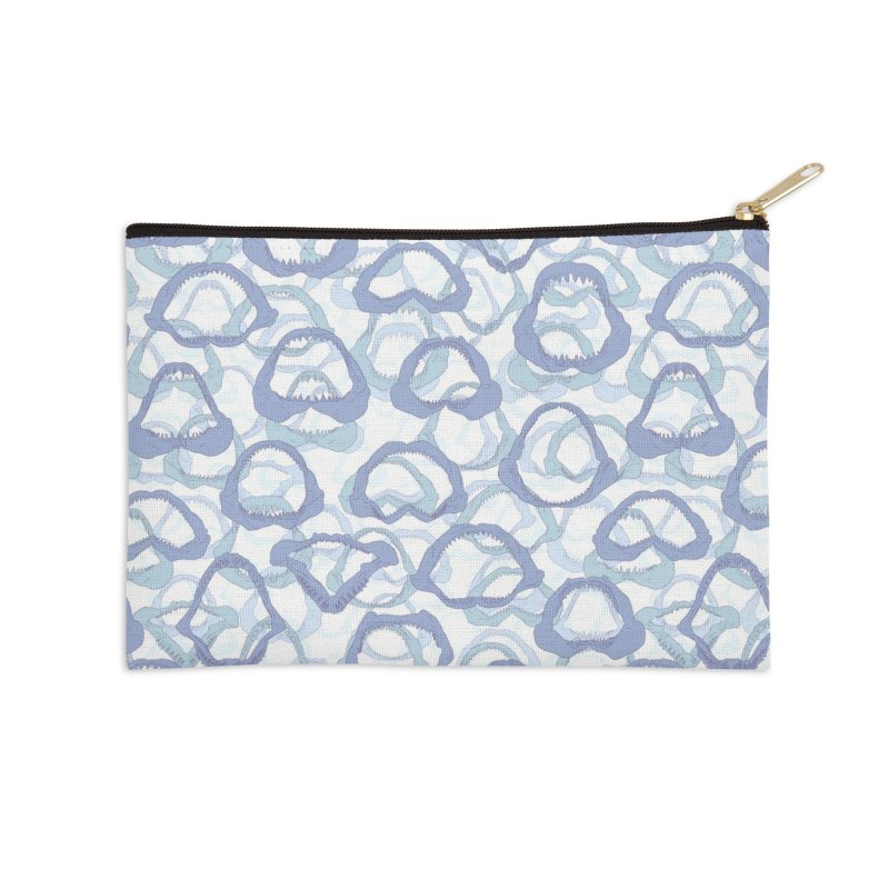 Jaws Accessories Zip Pouch by Victor Calahan