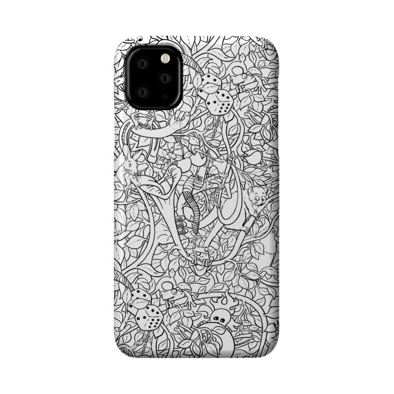 Mojo Jungle Accessories Phone Case by Victor Calahan