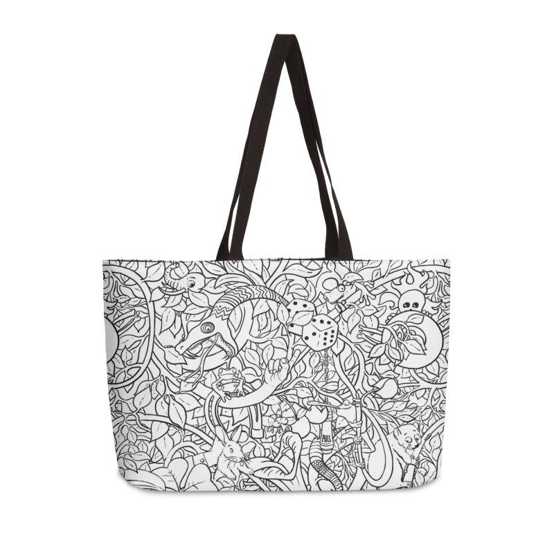 Mojo Jungle Accessories Weekender Bag Bag by Victor Calahan