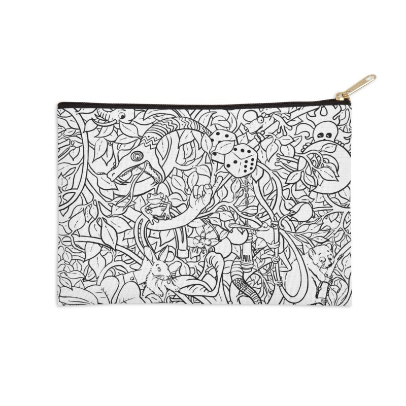 Mojo Jungle Accessories Zip Pouch by Victor Calahan