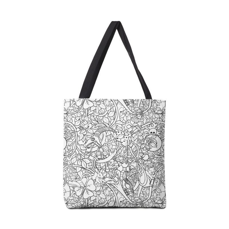 Mojo Jungle in Tote Bag by Victor Calahan