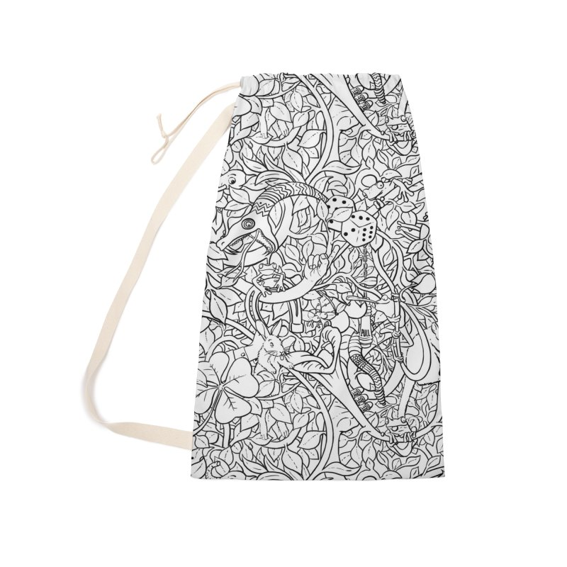 Mojo Jungle Accessories Laundry Bag Bag by Victor Calahan