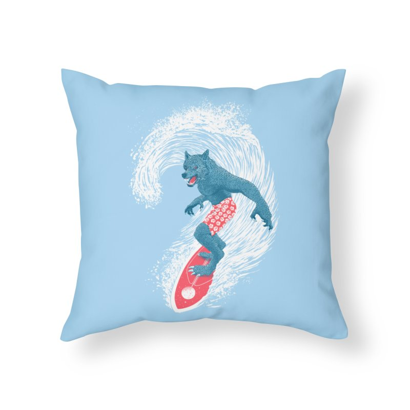 Moontide Home Throw Pillow by Victor Calahan