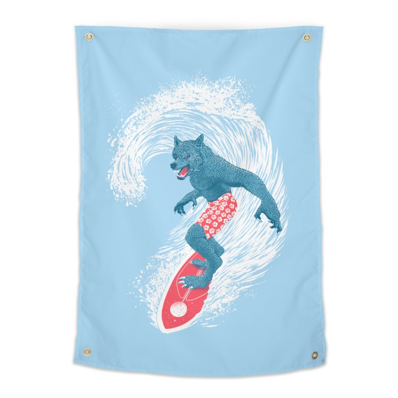 Moontide Home Tapestry by Victor Calahan