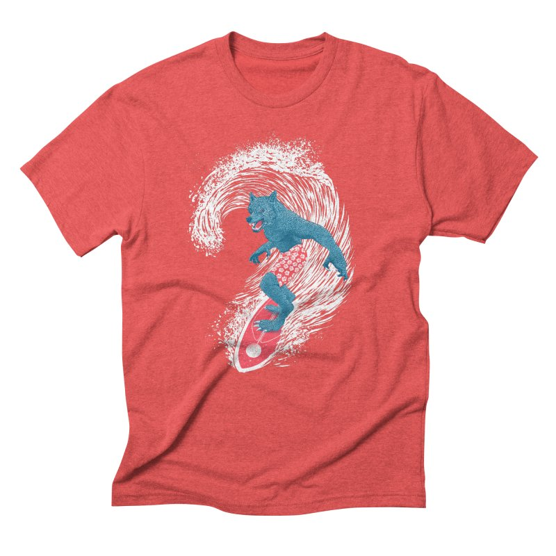 Moontide Men's Triblend T-Shirt by Victor Calahan