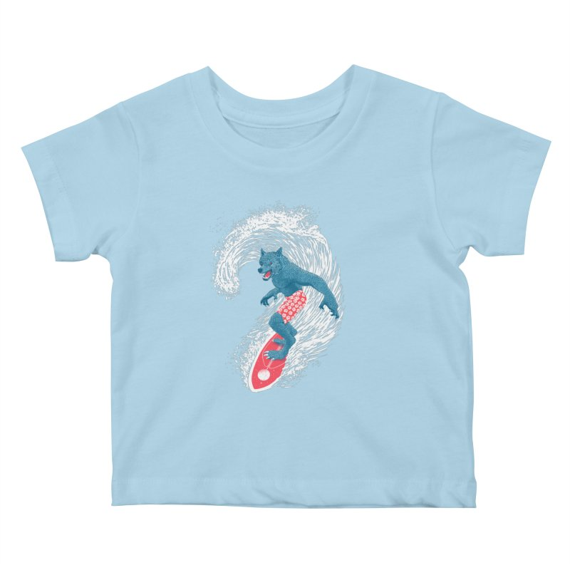 Moontide Kids Baby T-Shirt by Victor Calahan