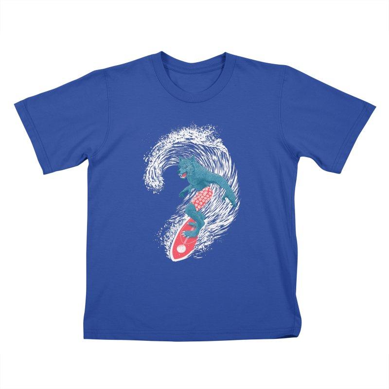 Moontide Kids T-Shirt by Victor Calahan