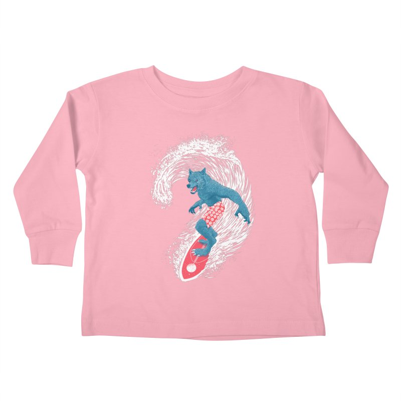Moontide Kids Toddler Longsleeve T-Shirt by Victor Calahan