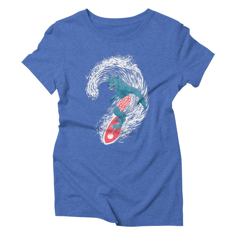 Moontide Women's Triblend T-Shirt by Victor Calahan