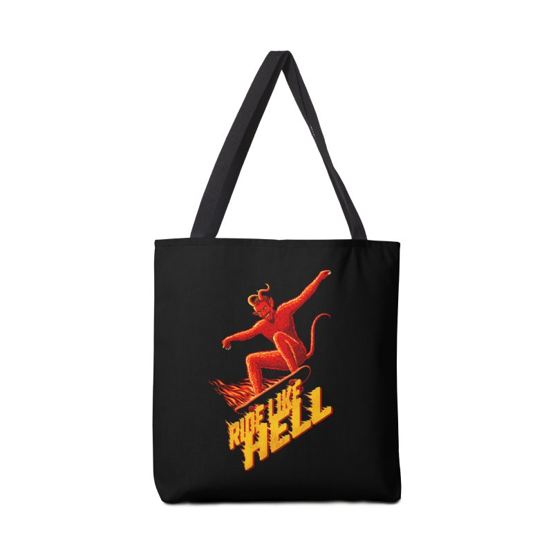 Like Hell Accessories Bag by Victor Calahan