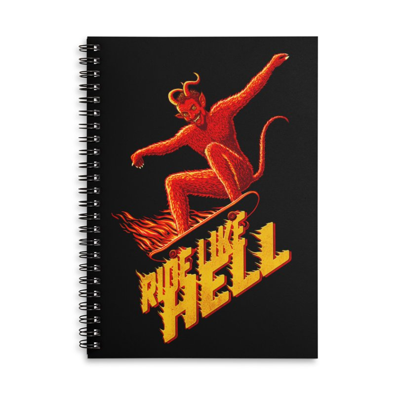 Like Hell Accessories Notebook by Victor Calahan