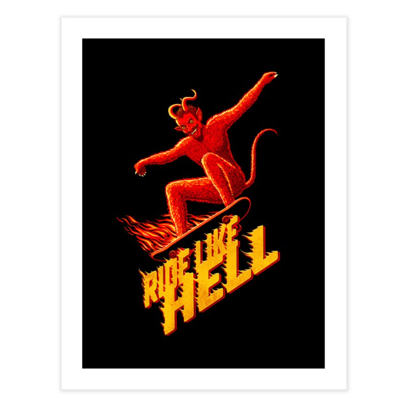 Like Hell Home Fine Art Print by Victor Calahan