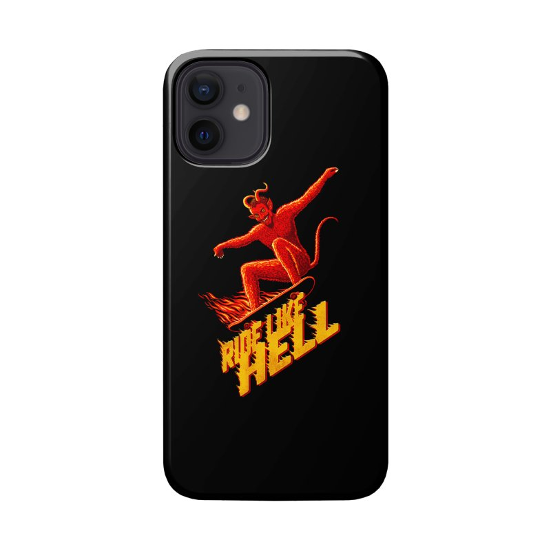 Like Hell Accessories Phone Case by Victor Calahan