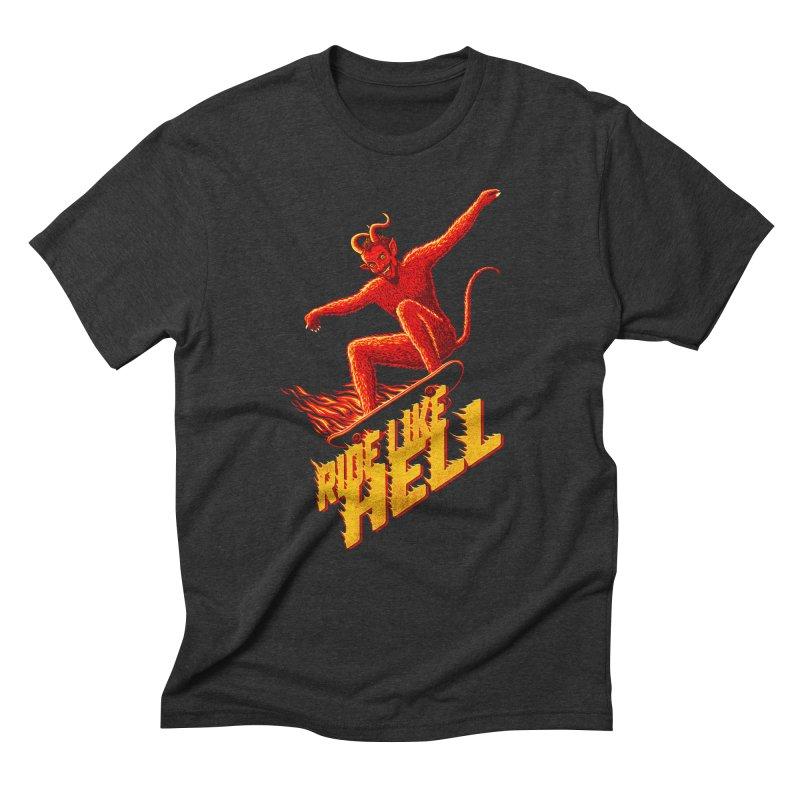 Like Hell Men's T-Shirt by Victor Calahan