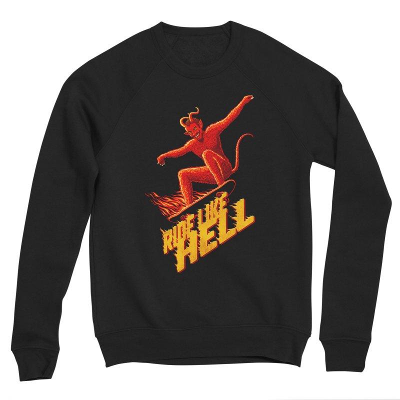 Like Hell Women's Sweatshirt by Victor Calahan