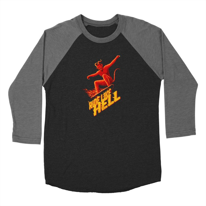 Like Hell Women's Longsleeve T-Shirt by Victor Calahan