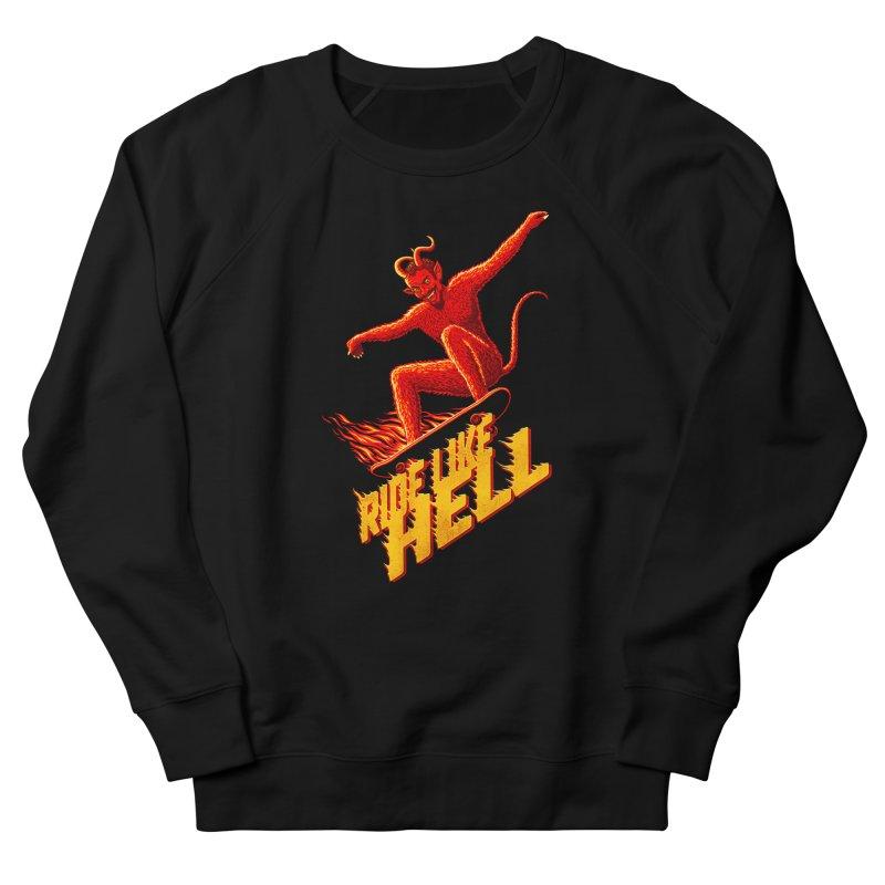 Like Hell Men's Sweatshirt by Victor Calahan