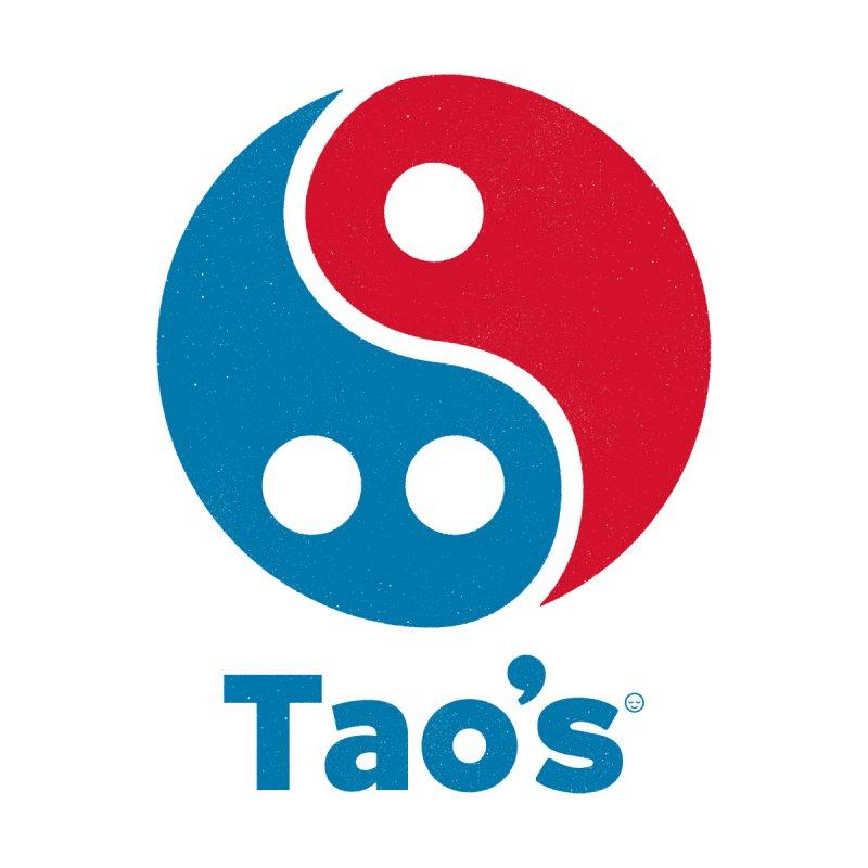 Tao's Men's V-Neck by Victor Calahan