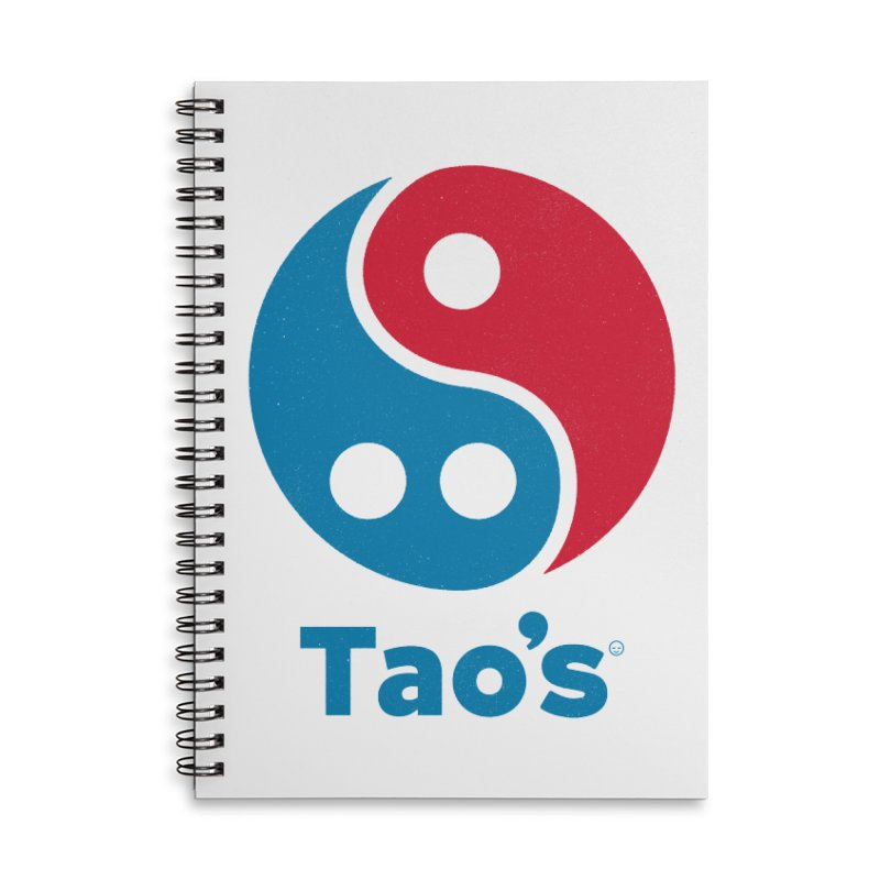Tao's Accessories Notebook by Victor Calahan
