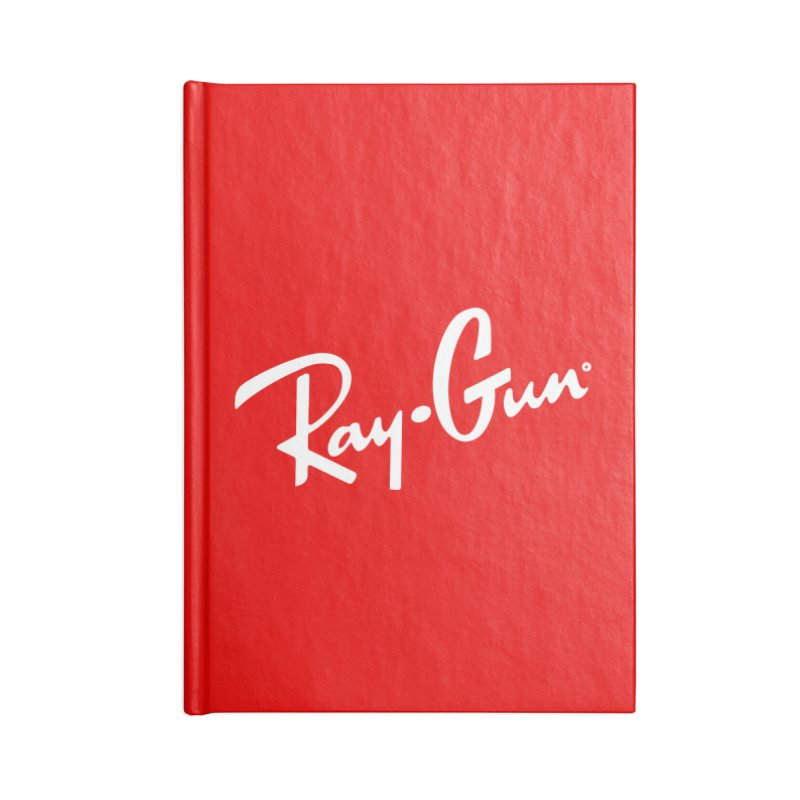Ray-Gun Accessories Notebook by Victor Calahan