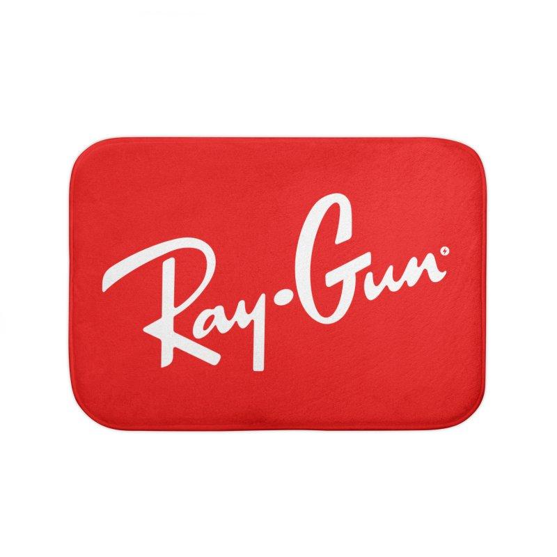 Ray-Gun Home Bath Mat by Victor Calahan