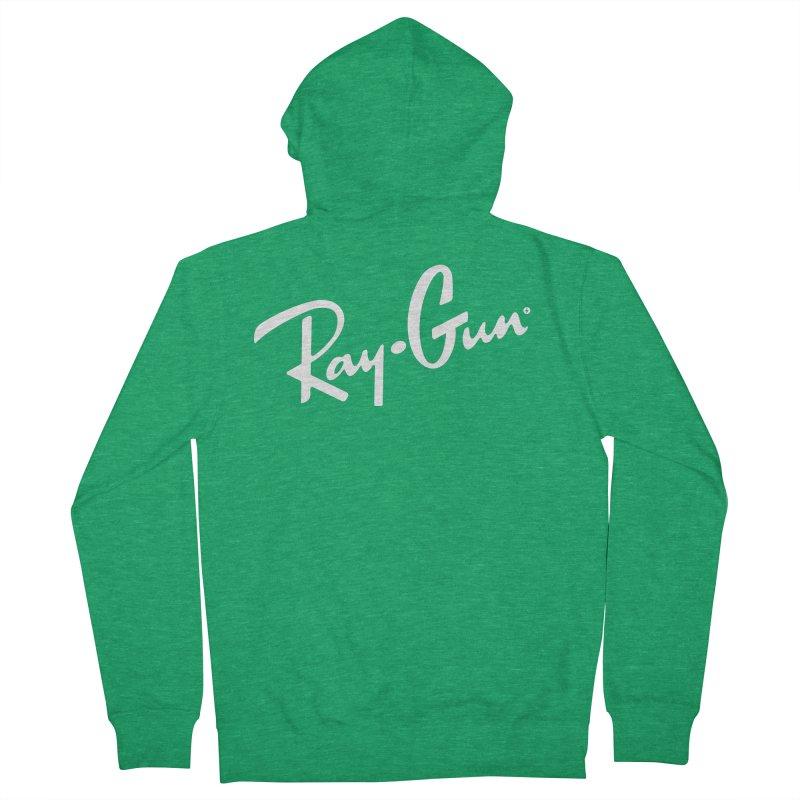 Ray-Gun Men's Zip-Up Hoody by Victor Calahan