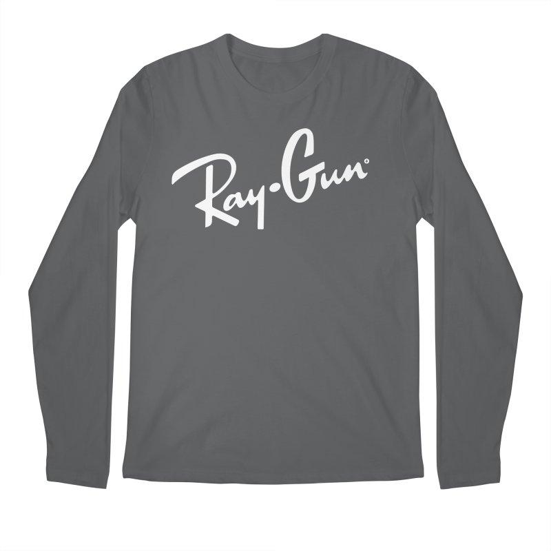 Ray-Gun Men's Longsleeve T-Shirt by Victor Calahan