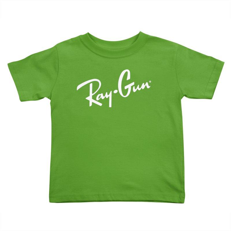 Ray-Gun Kids Toddler T-Shirt by Victor Calahan