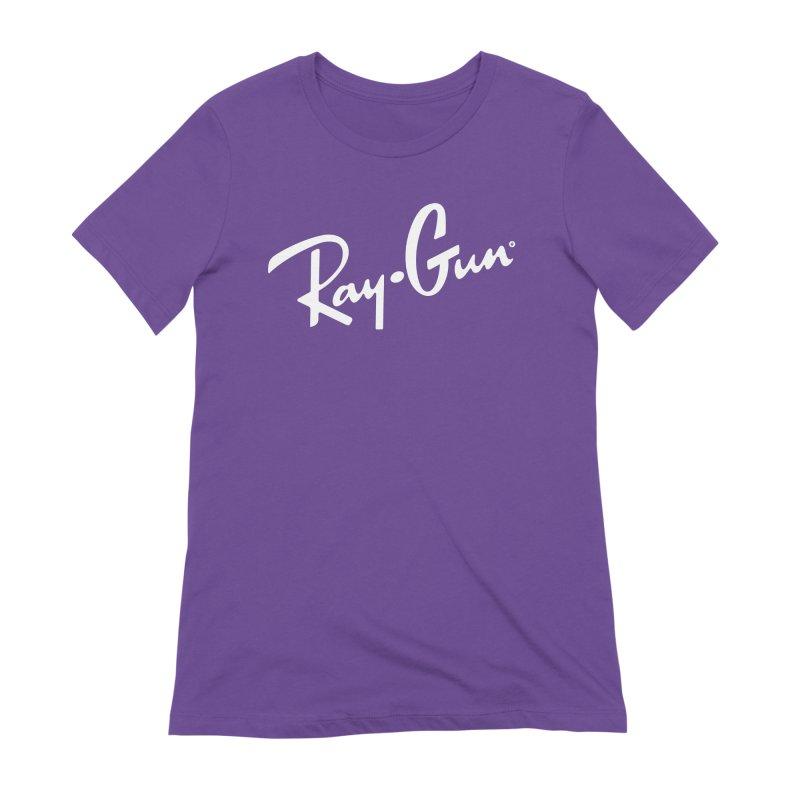 Ray-Gun Women's T-Shirt by Victor Calahan