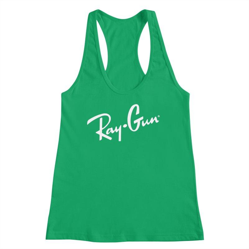 Ray-Gun Women's Tank by Victor Calahan