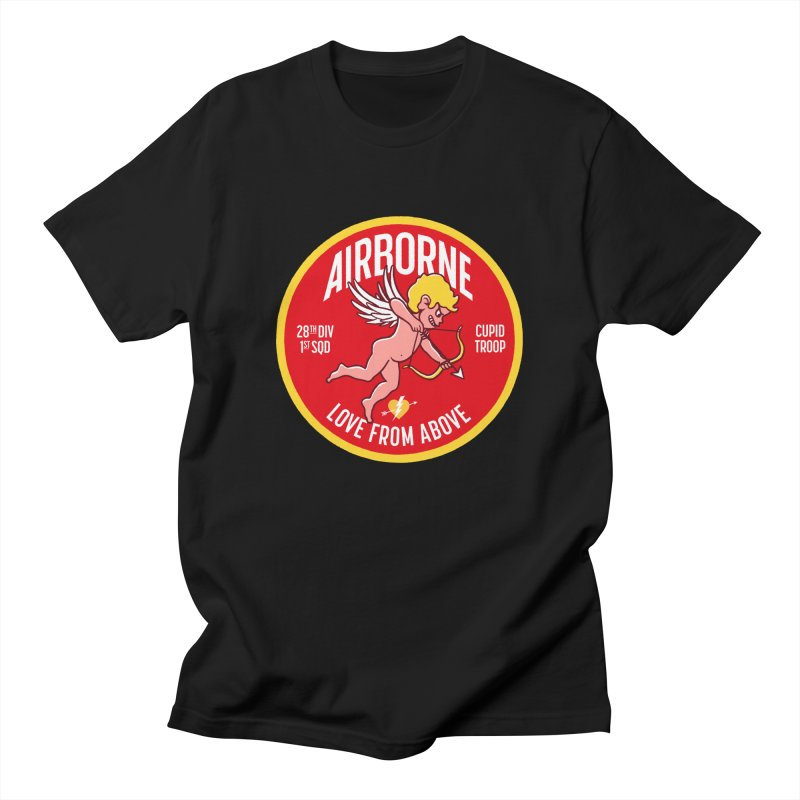 Love From Above Men's T-Shirt by Victor Calahan