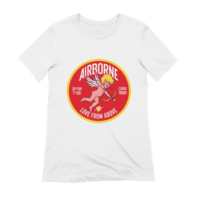 Love From Above Women's T-Shirt by Victor Calahan