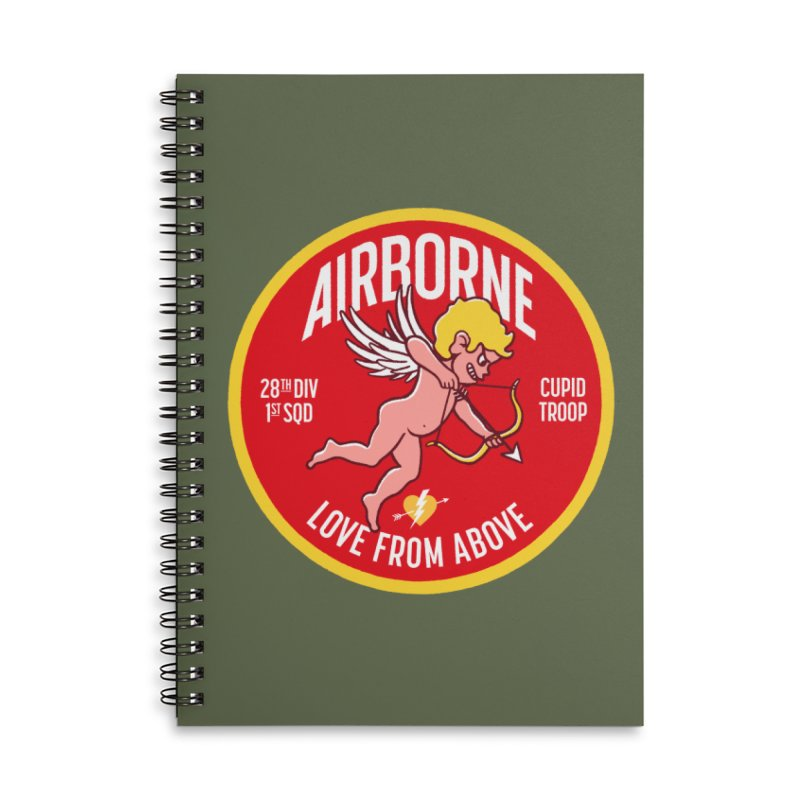 Love From Above Accessories Notebook by Victor Calahan