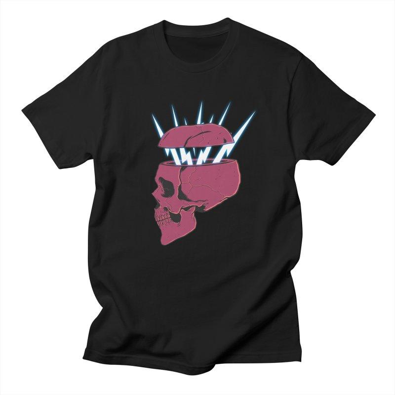 SKULL 'N BOLT Men's T-Shirt by victorfelix's Artist Shop